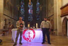 In Bethlehem entzündetes Friedenslicht kommt nach Sigmaringen